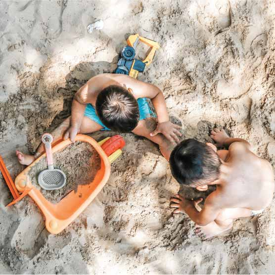 Praia, Piscina, Ar livre e Brinquedos de Exterior