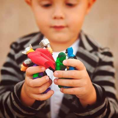 Brinquedos de ação