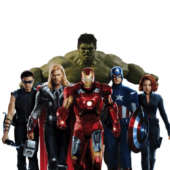 Figuras Avengers