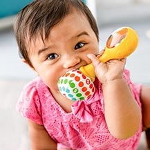 Brinquedos para recém-nascidos e mordedores