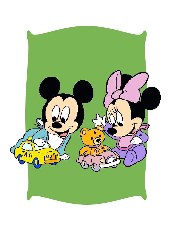 Brinquedos do Mickey e da Minnie