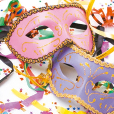 Máscaras e óculos