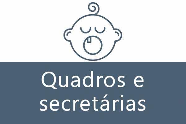Quadros e Secretárias