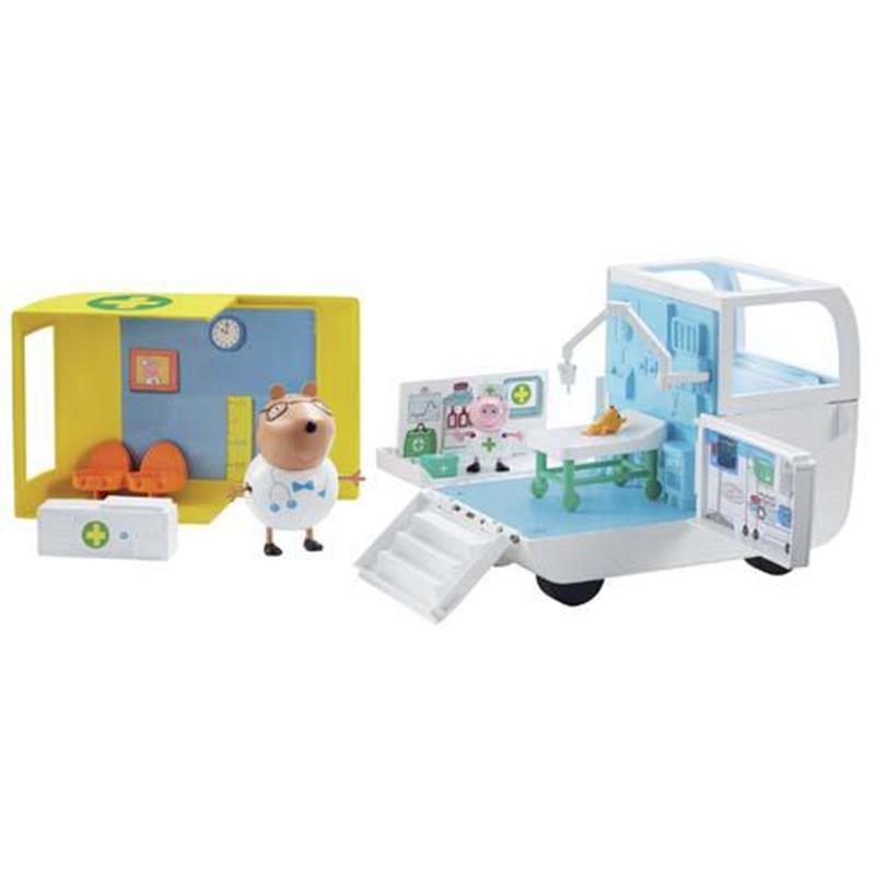 Peppa Pig Ambulância e centro médico