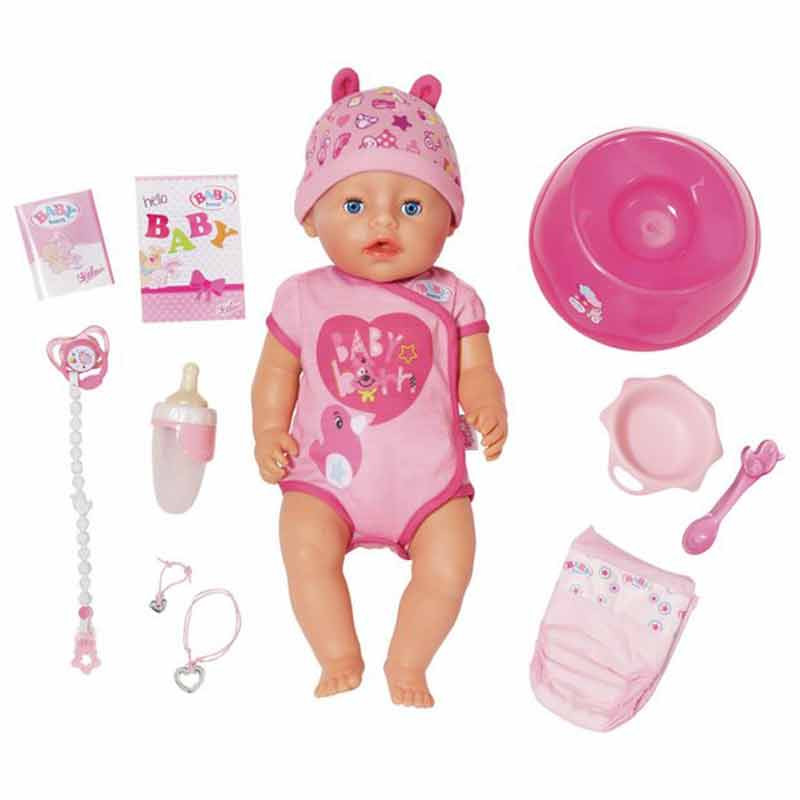 Baby Born interativo Boneca Bebé Menina