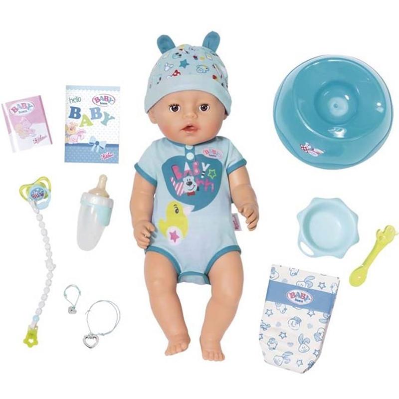 Baby Born boneco bebé interativo Menino