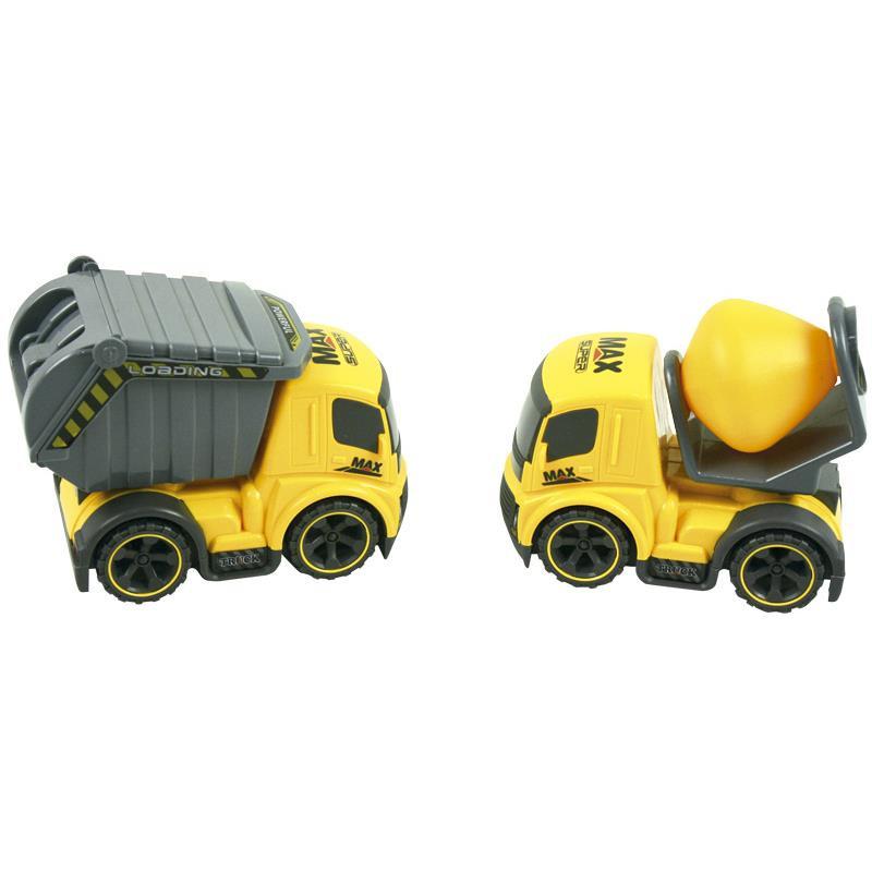 Camiões de obra de brinquedo pack de 2