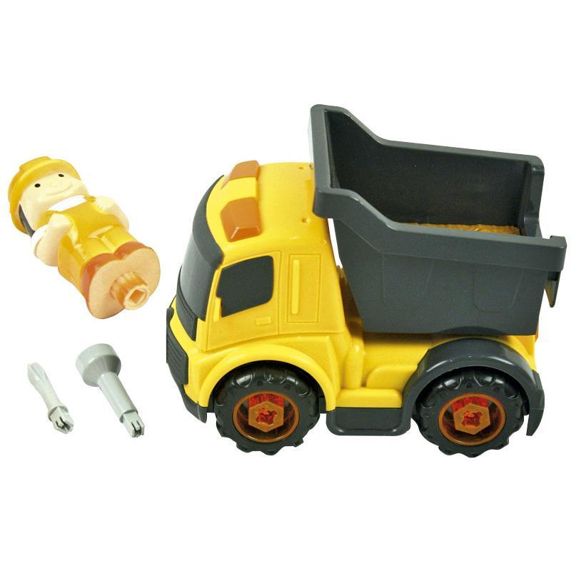 Camião misturador infantil com acessórios
