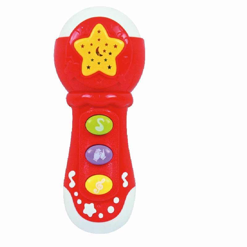Microfone eletrónico para bebé