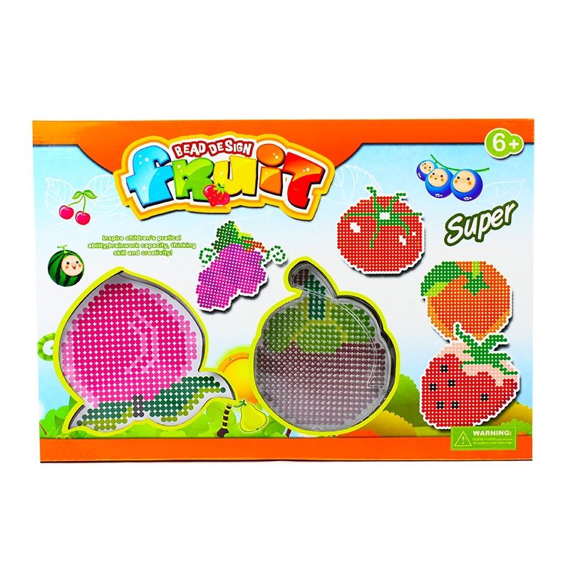 Missangas kit puzzle de frutas