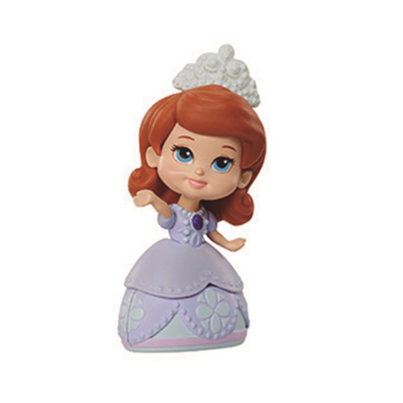 Mini princesa Sofia vestido lilás