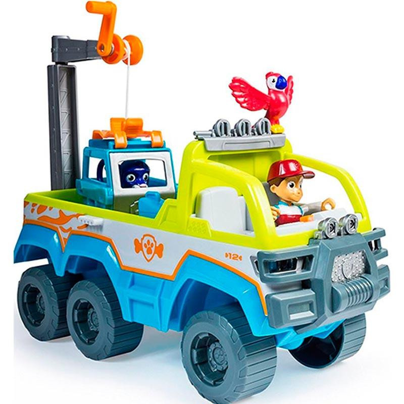 Patrulha Pata camião 4x4 resgate na Selva