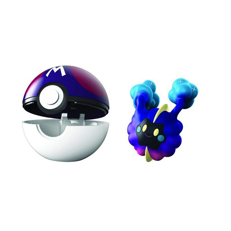 Pokemon Clip n goCosmog + poke ball
