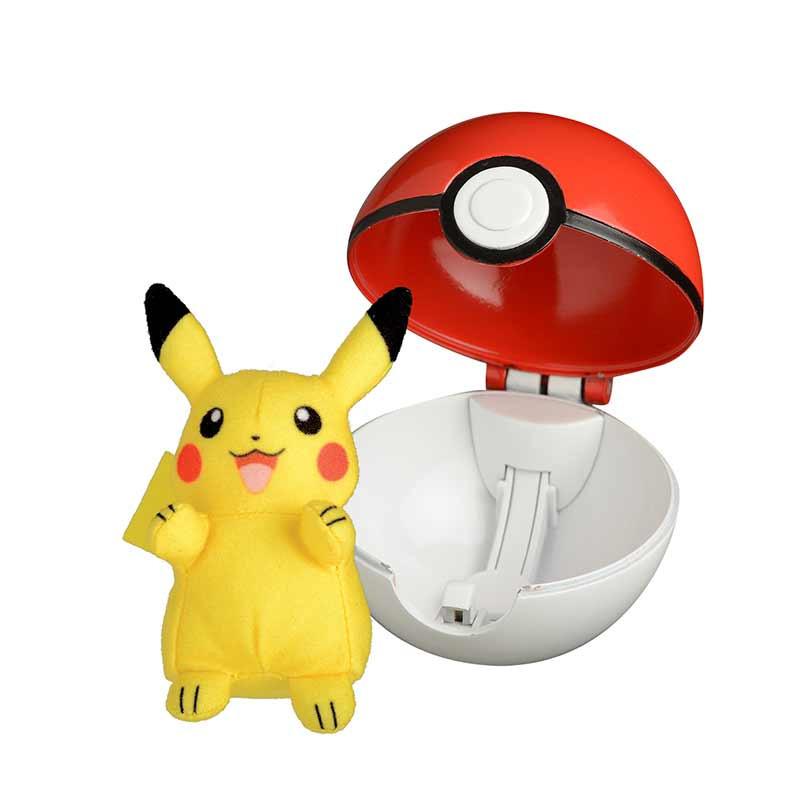 Pokemon Lança e Ataca Pikachu