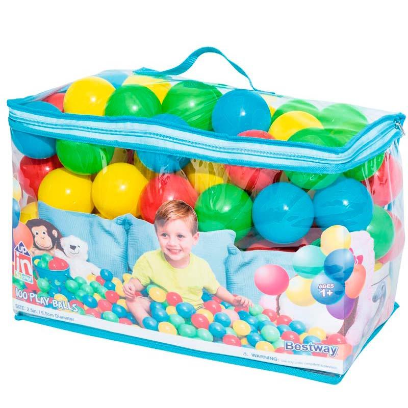 100 bolas para insuflável ou piscina