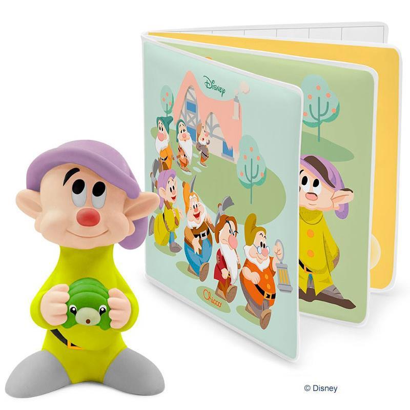 Chicco Livrinho de banho dos 7 Anões Disney Baby