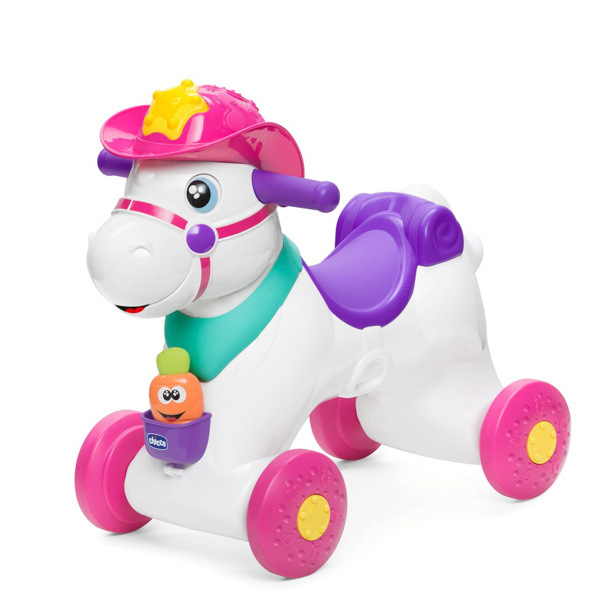 Chicco baby rodeo andador rosa