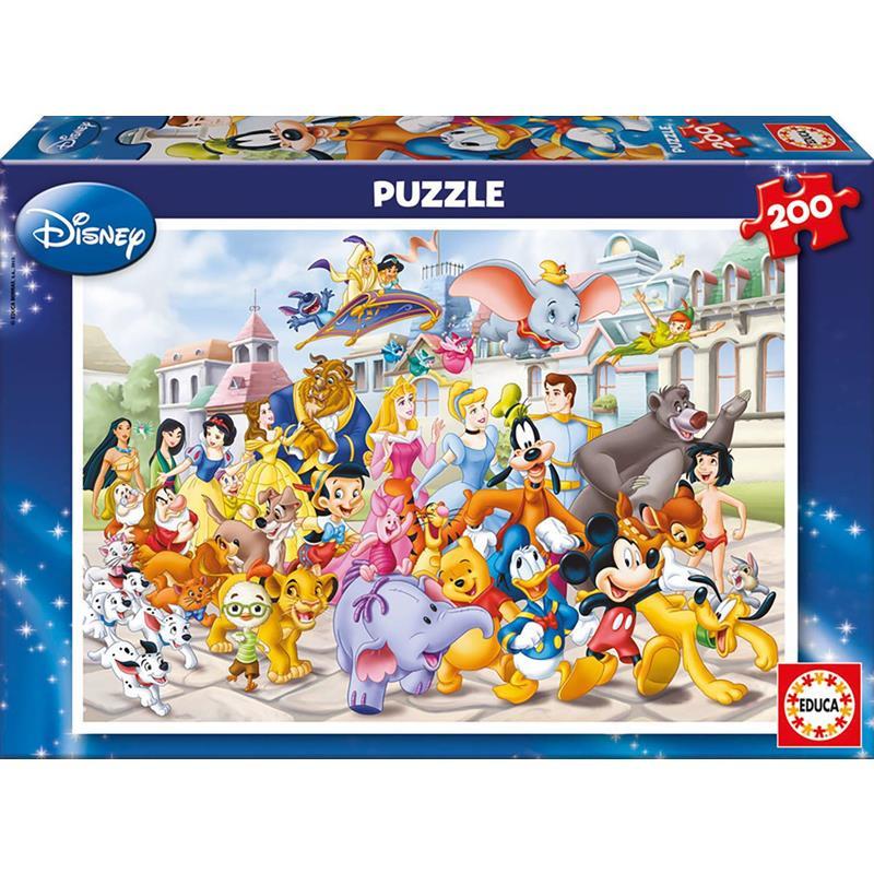 Puzzle 200 peças Passeio Disney