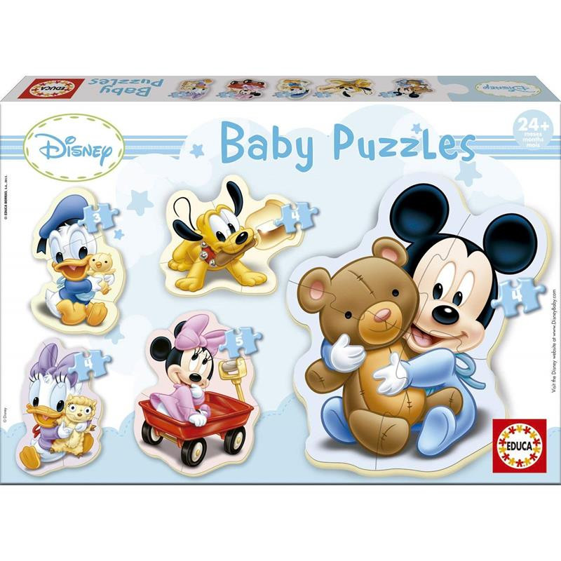 Educa 5 puzzle baby Mickey