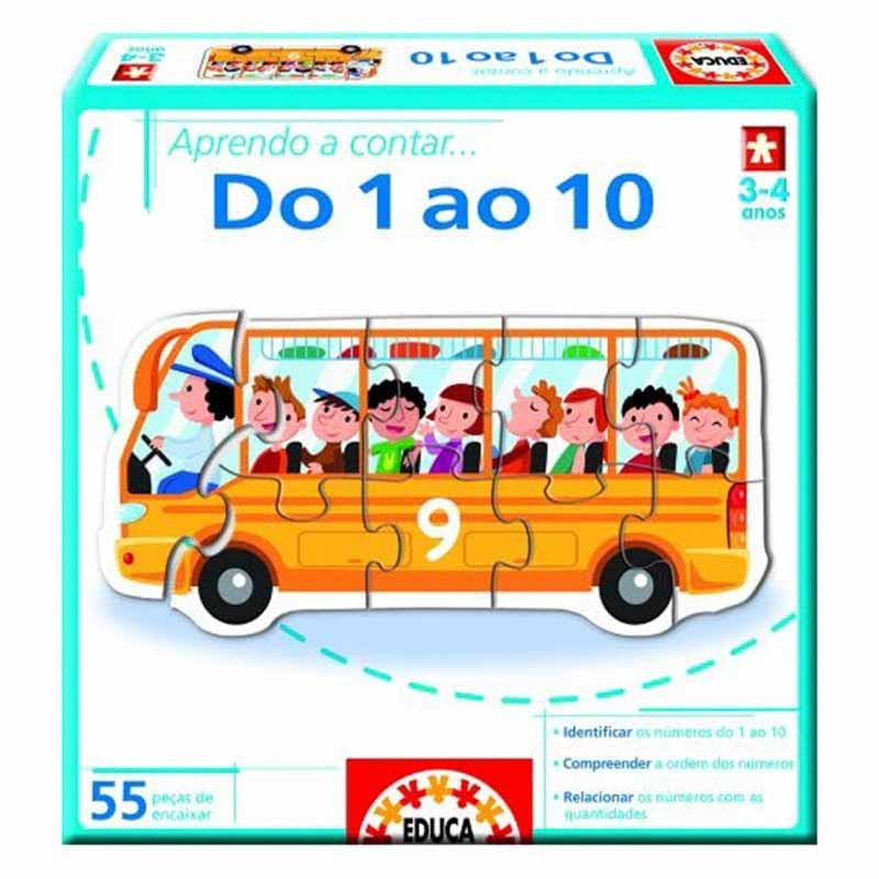 Educa aprendo a contar… do 1 ao 10
