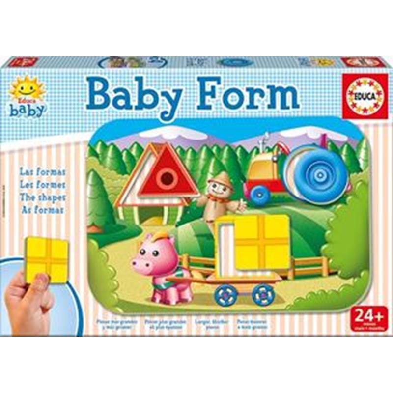 Educa puzzle educativo baby form