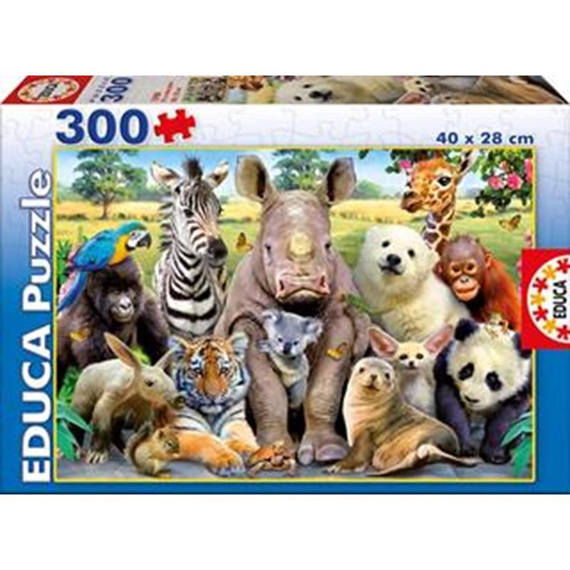 Educa puzzle 300 a foto da turma