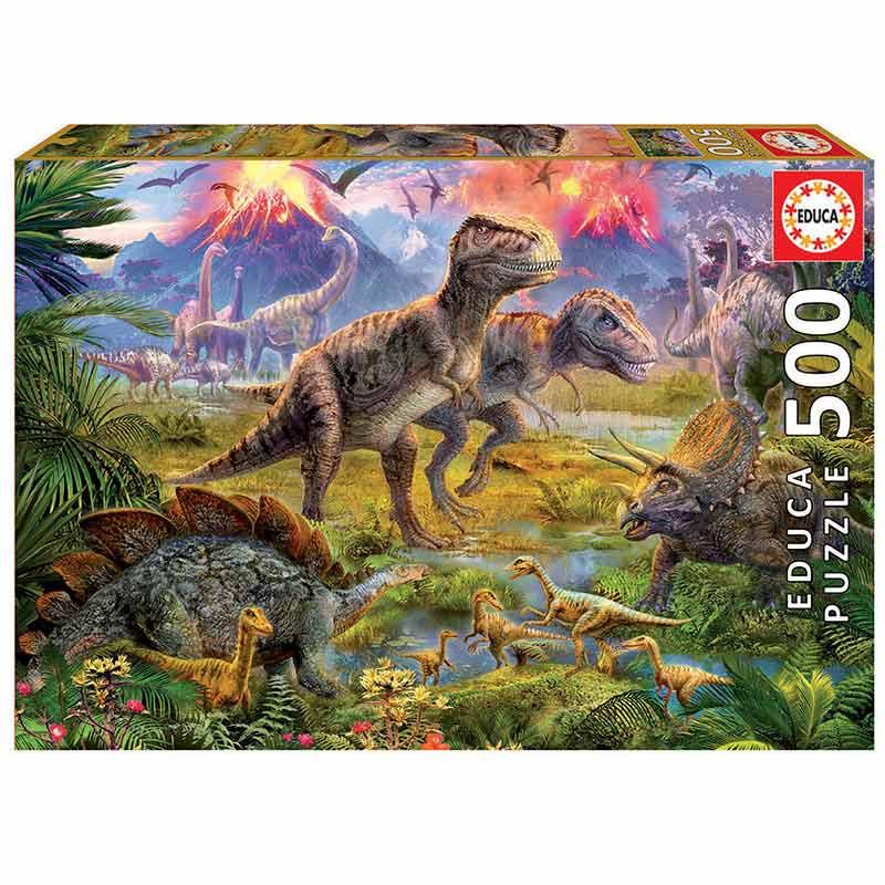 500 Encontro de dinossauros