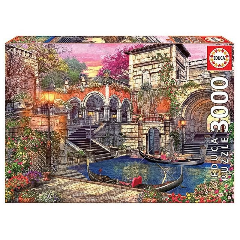 Educa puzzle 3000 romance em Veneza