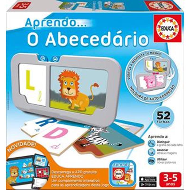 Educa aprendo o abecedário com app