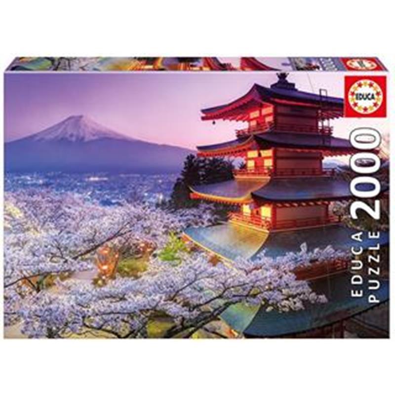 Educa puzzle monte fuji, Japão