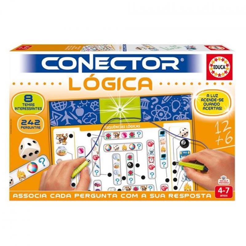 Educa conector lógica