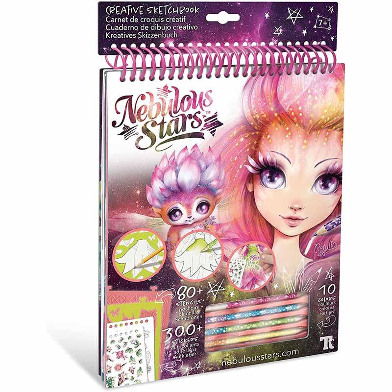 Educa Nebulous Stars caderno creativo Petulia