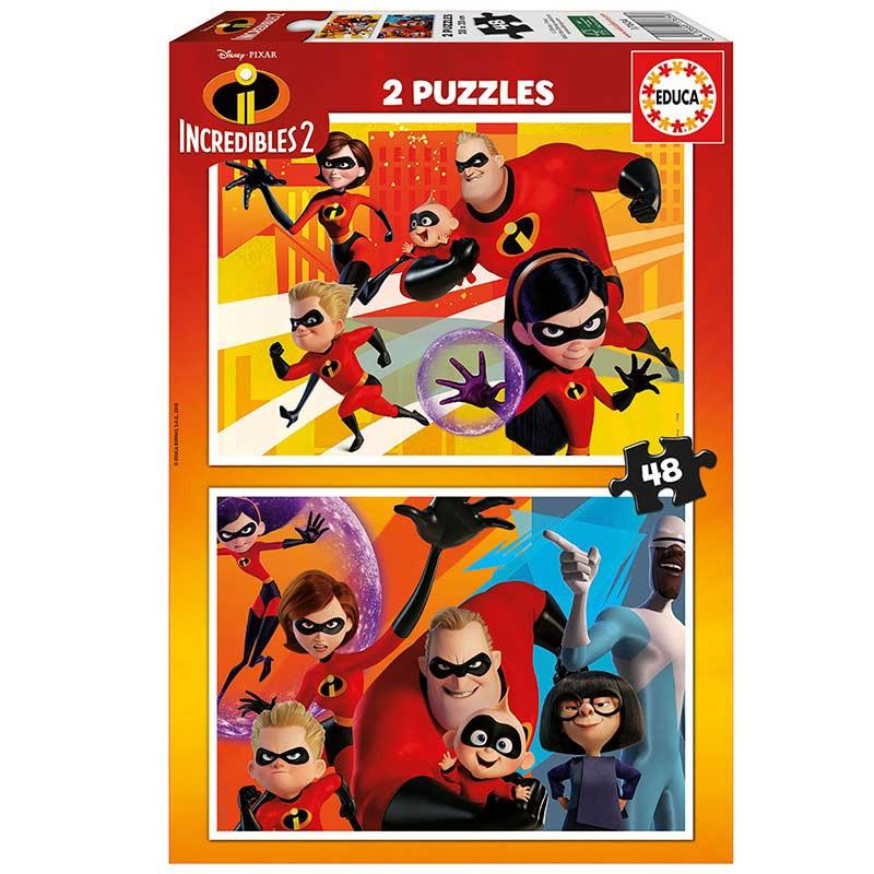 Educa puzzle Os incríveis 2