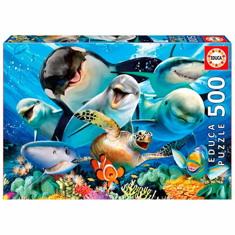 Educa puzzle 500 Selfie debaixo de água