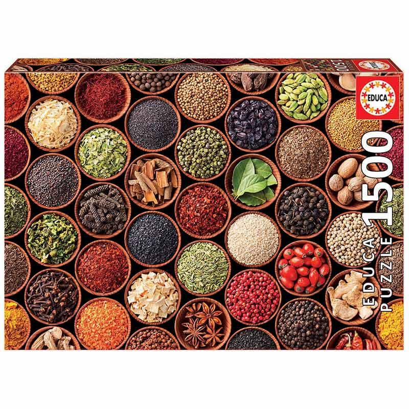 1500 Especiarias e condimentos