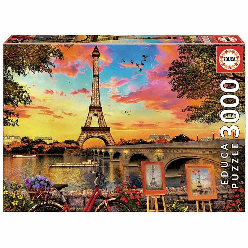3000 Pôr do sol em Paris