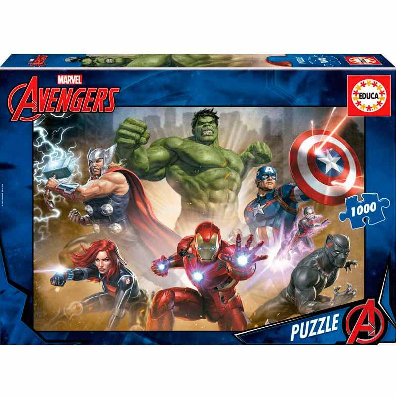 Educa puzzle 1000 Os Vingadores