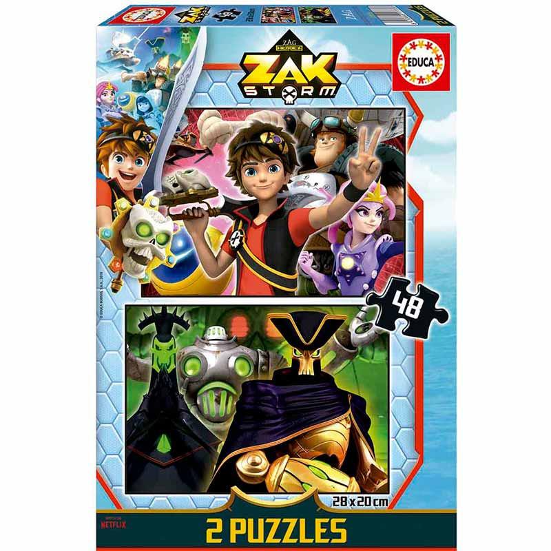 Educa puzzle 2x48 Zak Storm