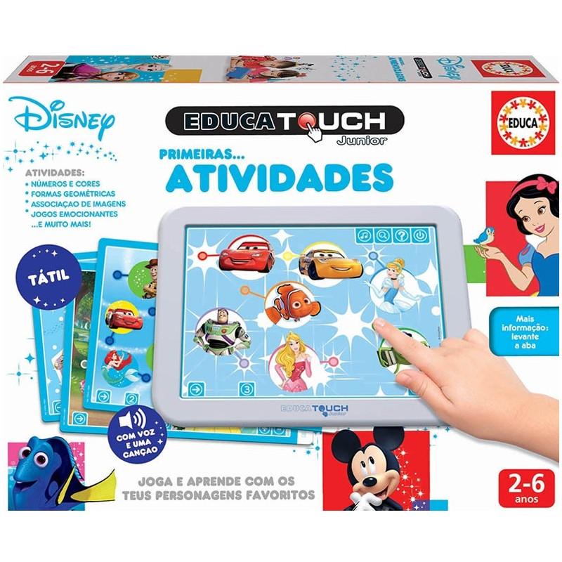 Educa Touch Disney primeiras atividades