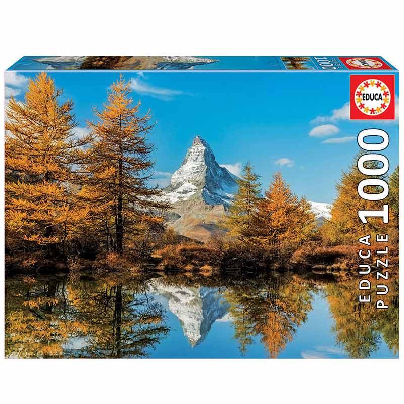 1000 Monte Cervino no outono