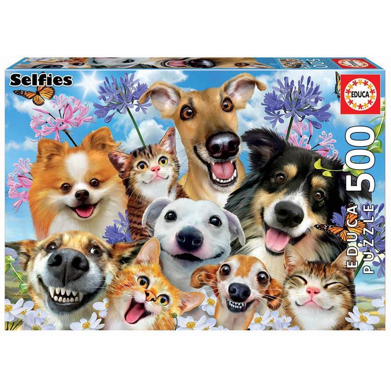 Educa Puzzle 500 fun in the sun selfie