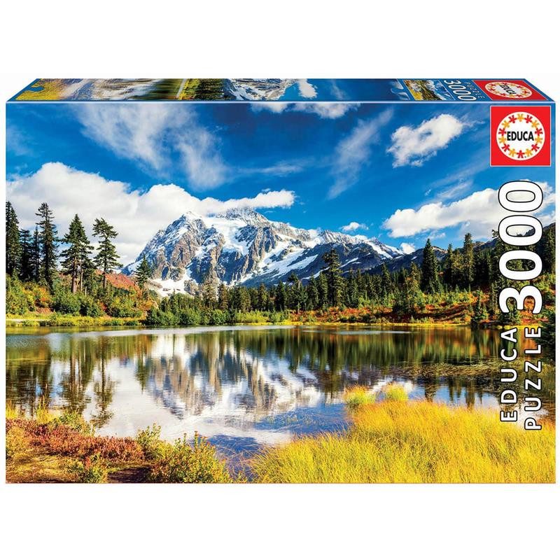 Educa Puzzle 3000 monte Shuksan Washington EEUU