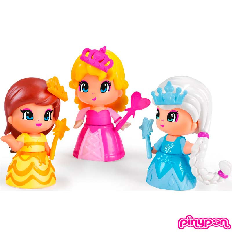 Pinypon conjunto 3 princesas