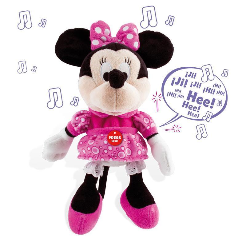 Minnie peluche interativo happy sounds