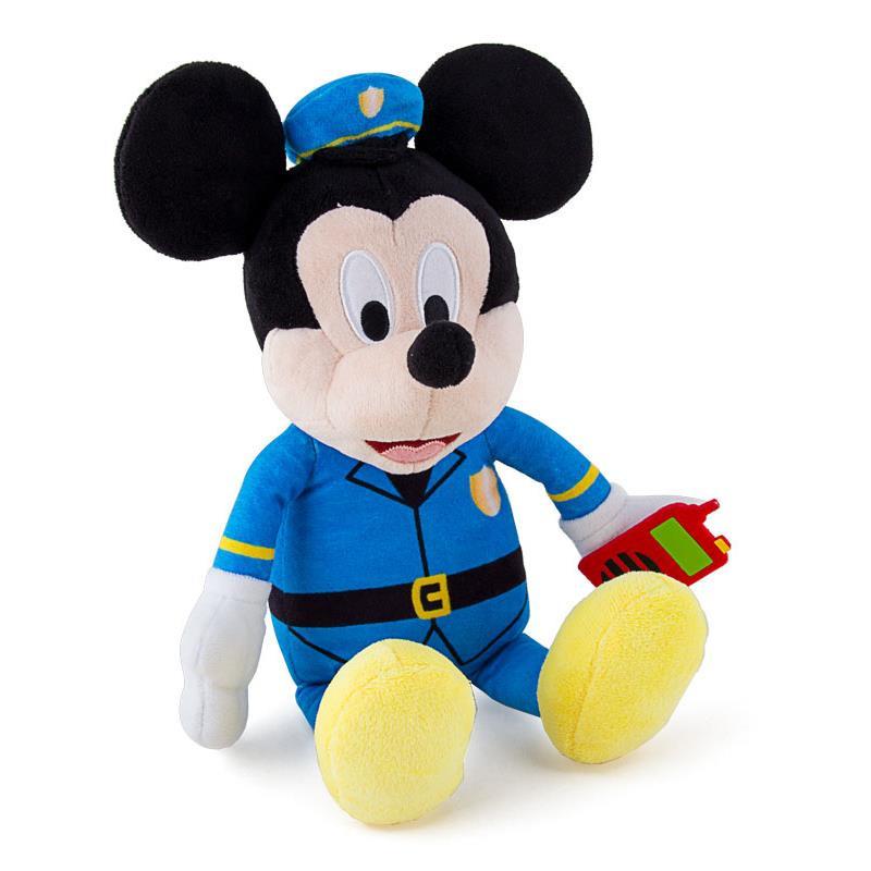 Peluche Mickey polícia
