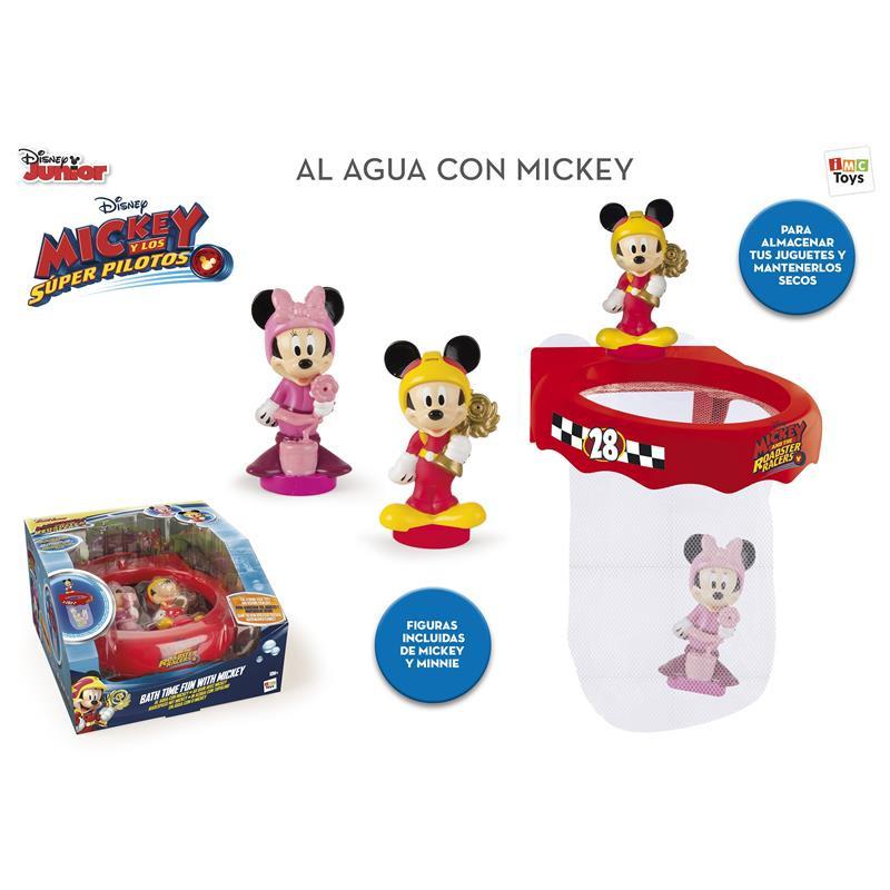 Vamos à agua com o Mickey