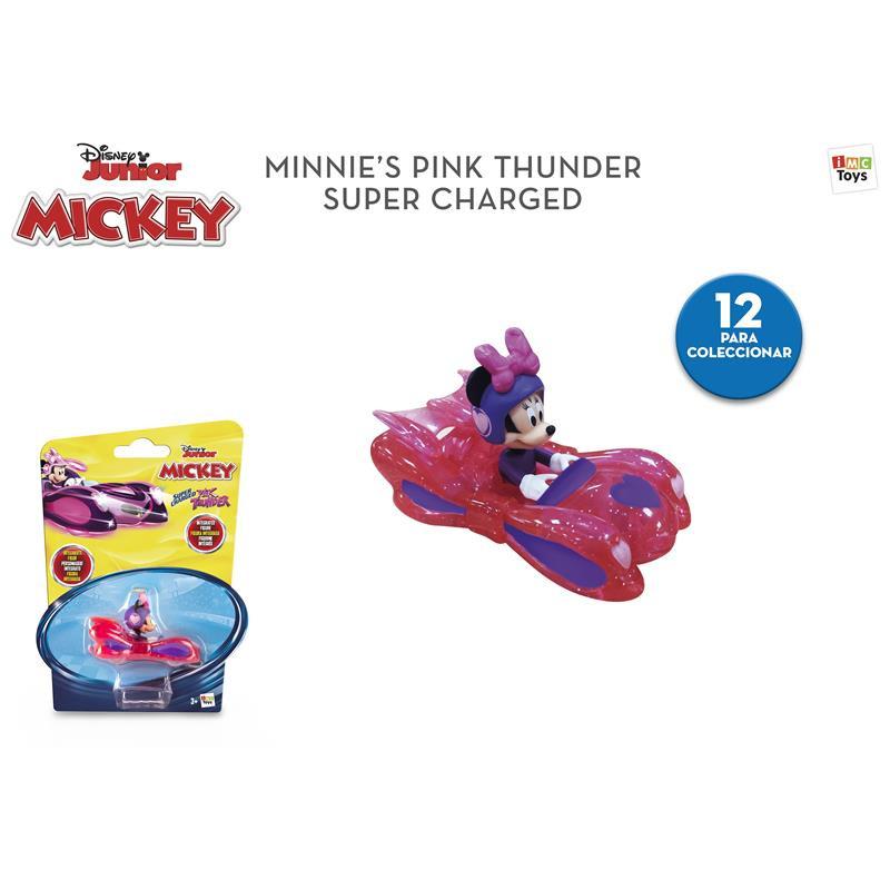 Mickey e os superpilotos veículo Minnie