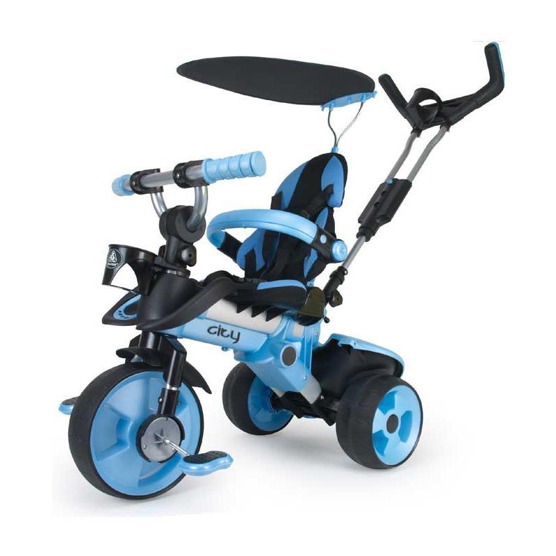 Triciclo City azul