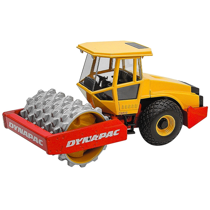 Rolo compactador dynapac ca512 rolo dentado 1:35