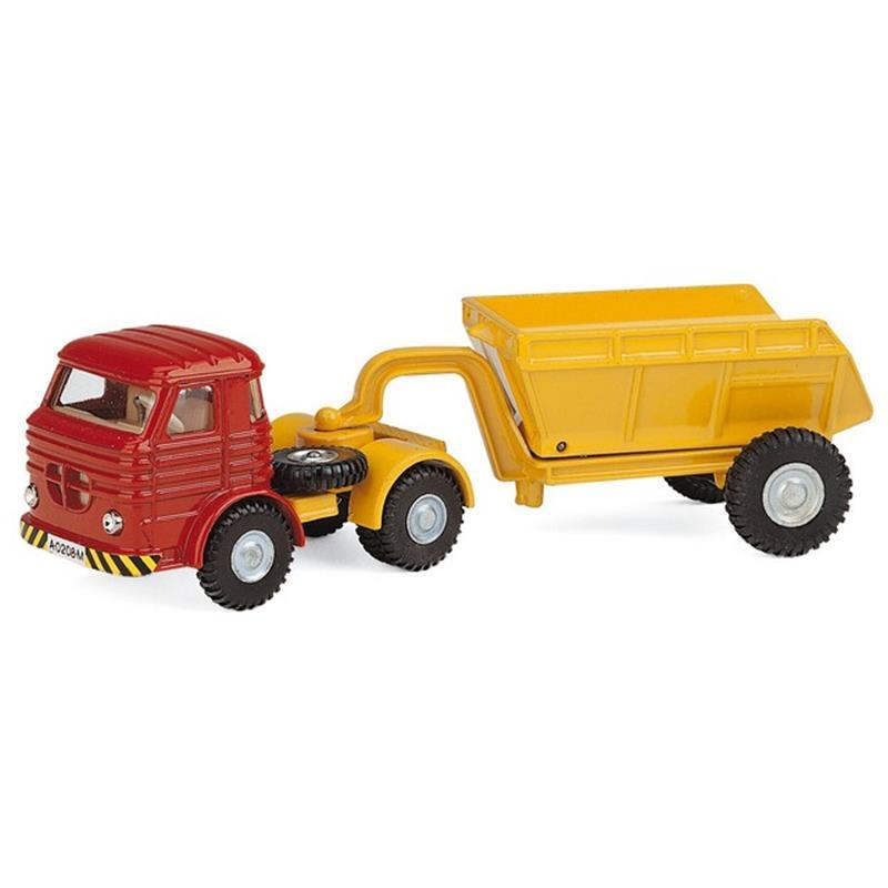 Camião trailer Pegaso c/reboque basculante 175 mm